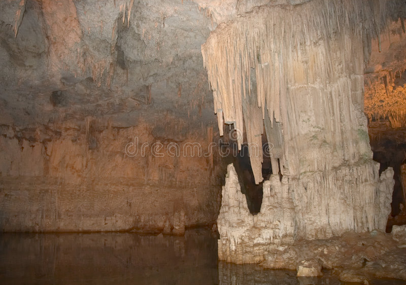 nettuno σπηλιών στοκ φωτογραφία