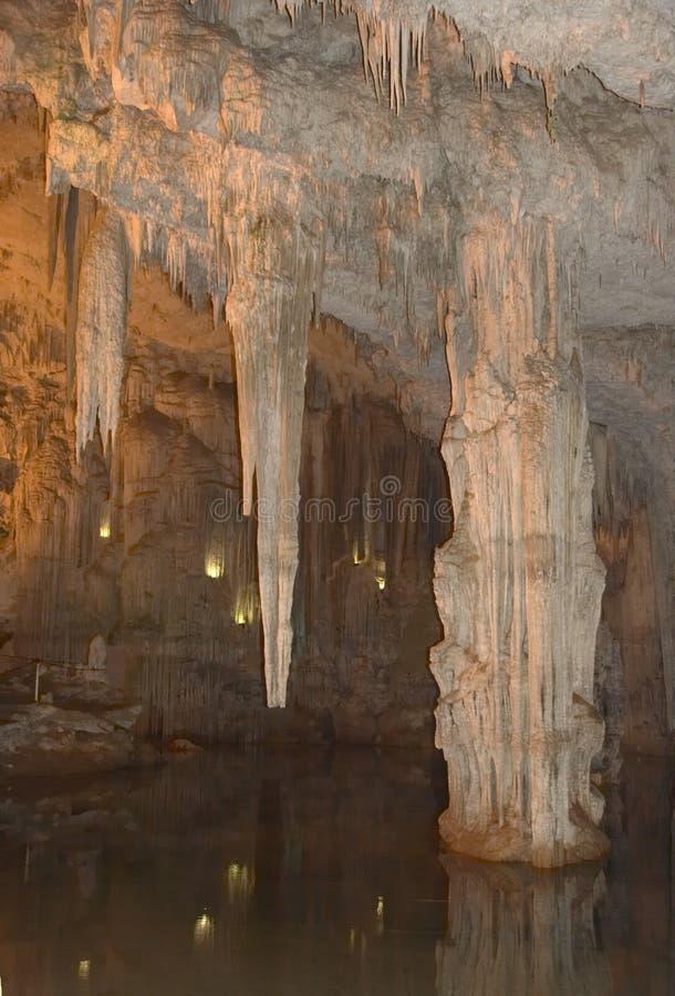 nettuno σπηλιών στοκ εικόνες