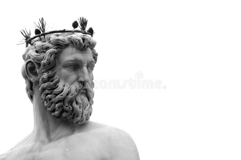 Netuno, Florença Italy fotografia de stock