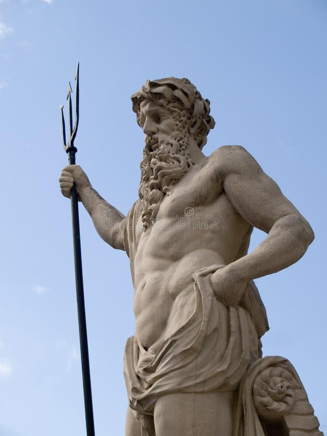 Netuno (Poseidon) imagem de stock royalty free