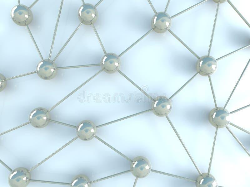 Netwerk vector illustratie