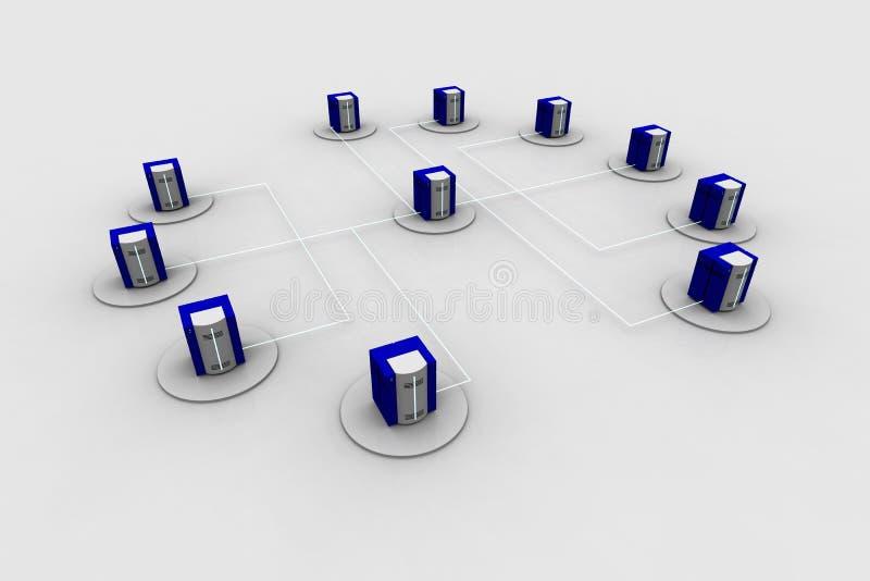 Netwerk 13 vector illustratie