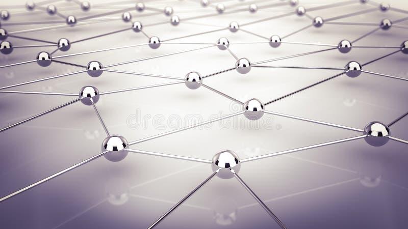Netwerk royalty-vrije illustratie