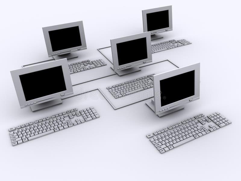 Netwerk 5 vector illustratie