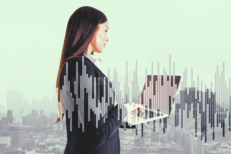 Netwerk en communicatie concept stock foto's