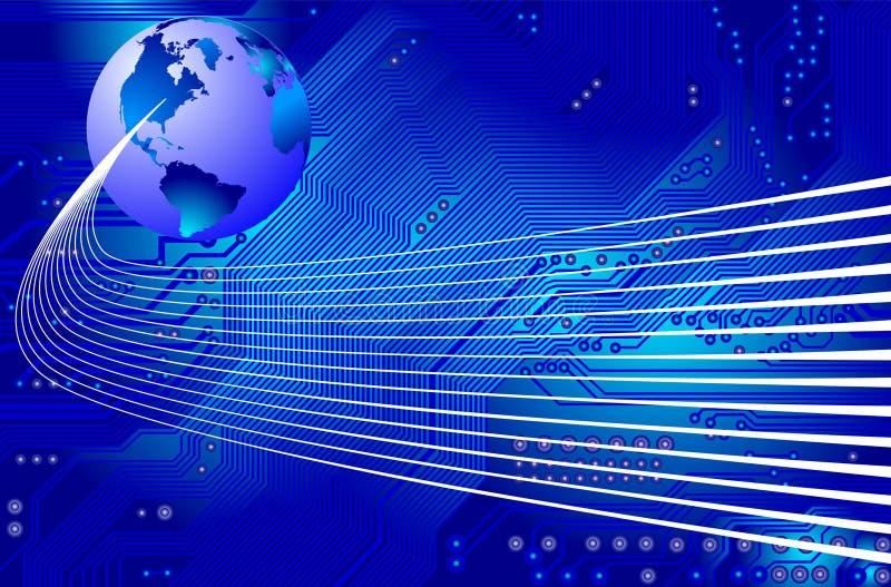 Netwerk - mededeling - vector vector illustratie