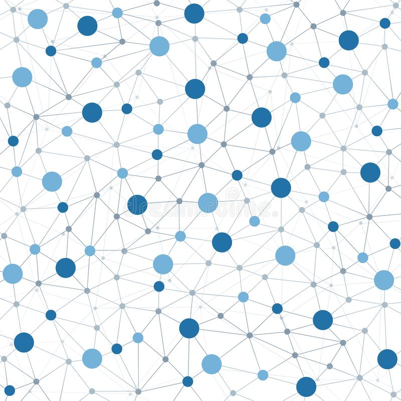 Netwerkconcepten royalty-vrije illustratie
