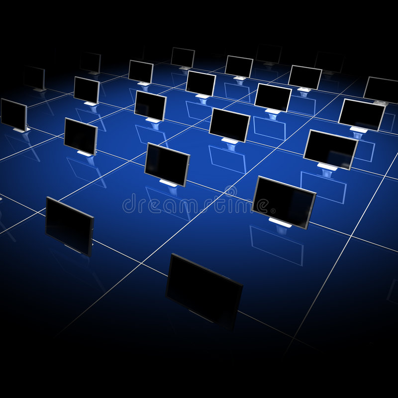 Download Network 04 stock illustration. Image of conspiracy, cube - 6744699