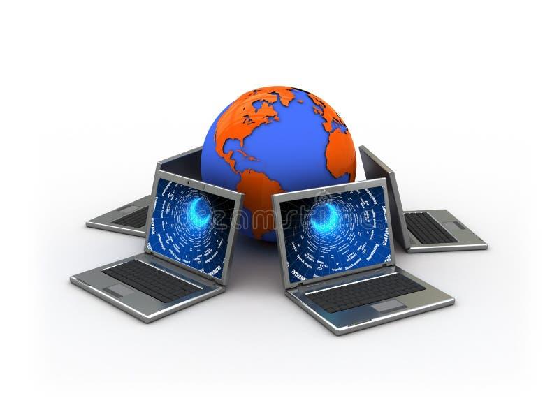 Download Network stock illustration. Image of internet, medium - 7057519