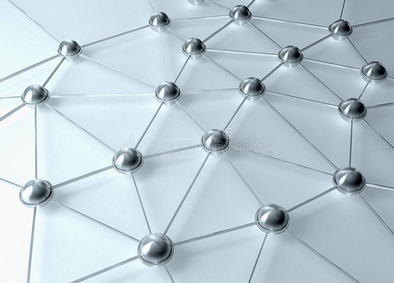 Network abstract. A network connections abstract illustration royalty free illustration