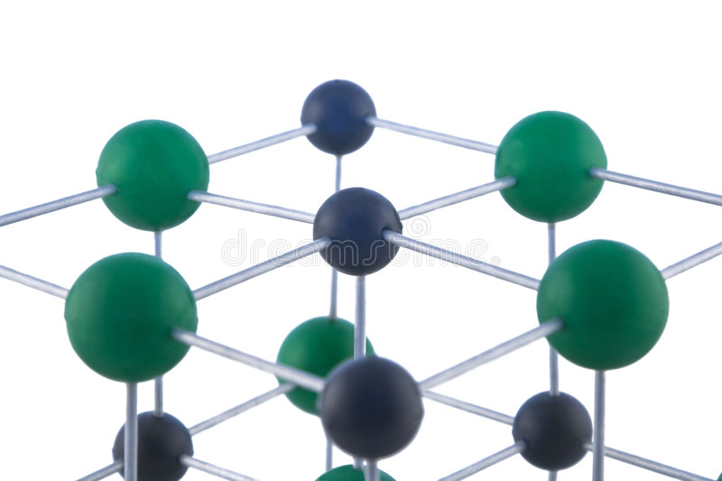Download Network Of Atoms Stock Image - Image: 6579471