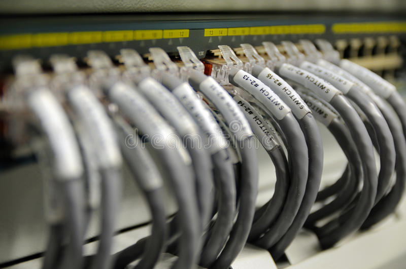 Download Network Cables Royalty Free Stock Photo - Image: 21396625