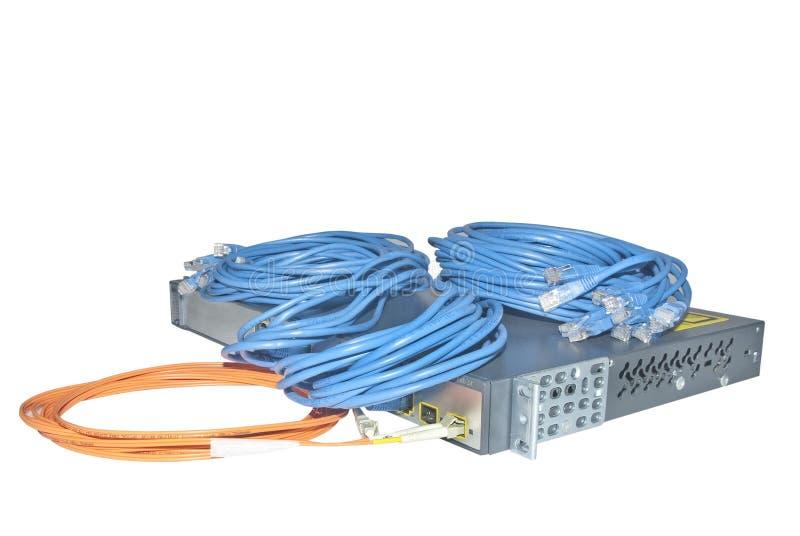 Network communication technology stock photo