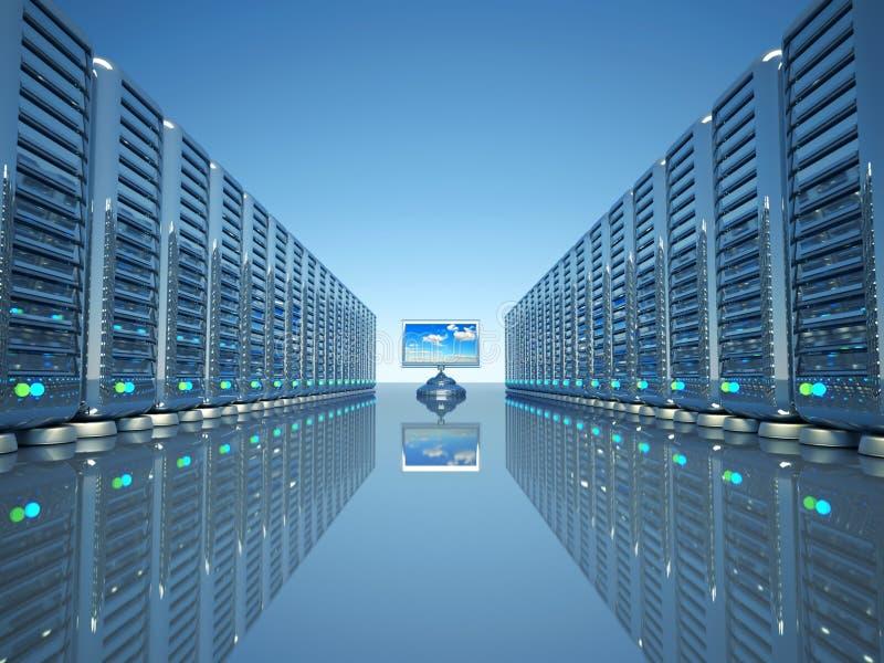 Download Network computer server stock illustration. Illustration of white - 11656752