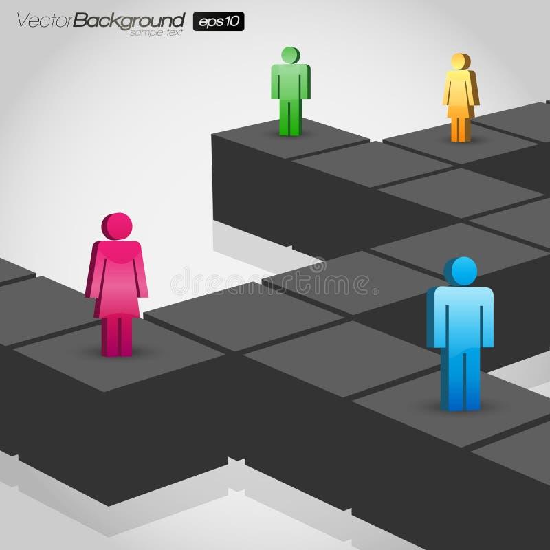 Network Concept stock illustration