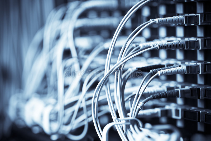 Network connection royalty free stock photo