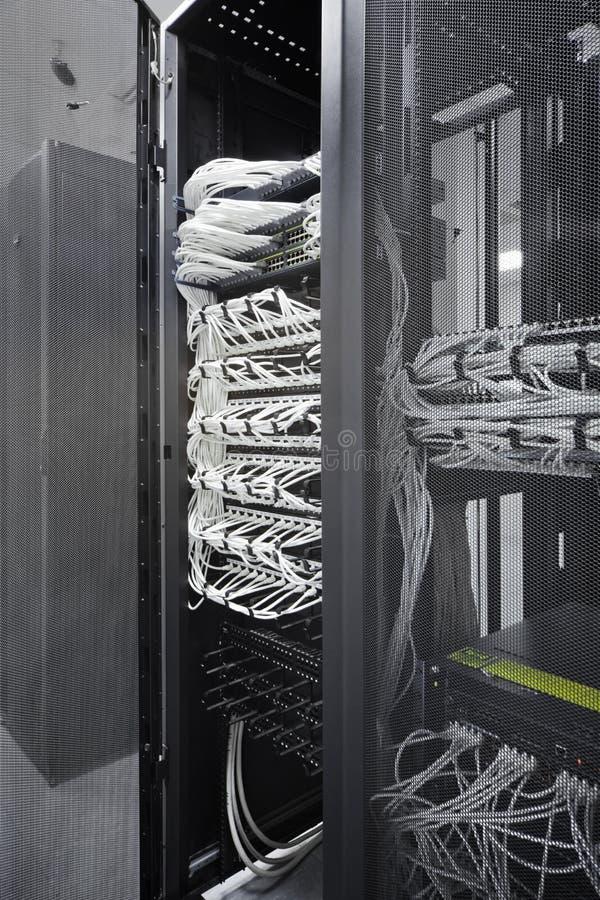 Network equipment royalty free stock photos
