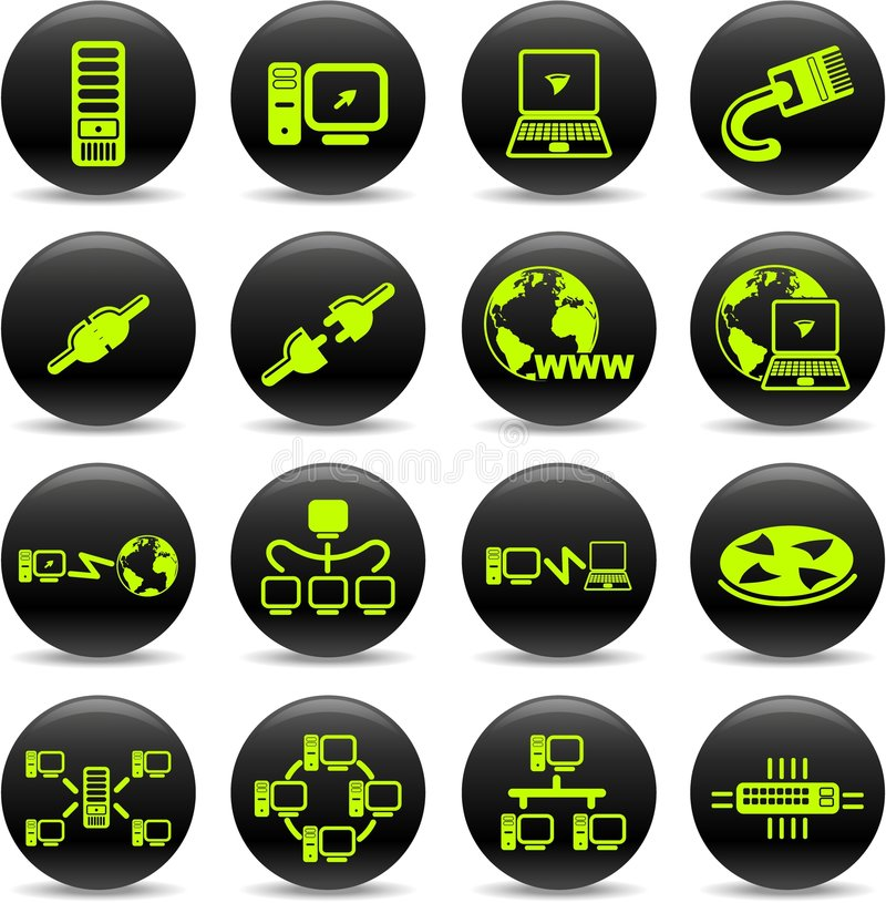 Network icons vector illustration