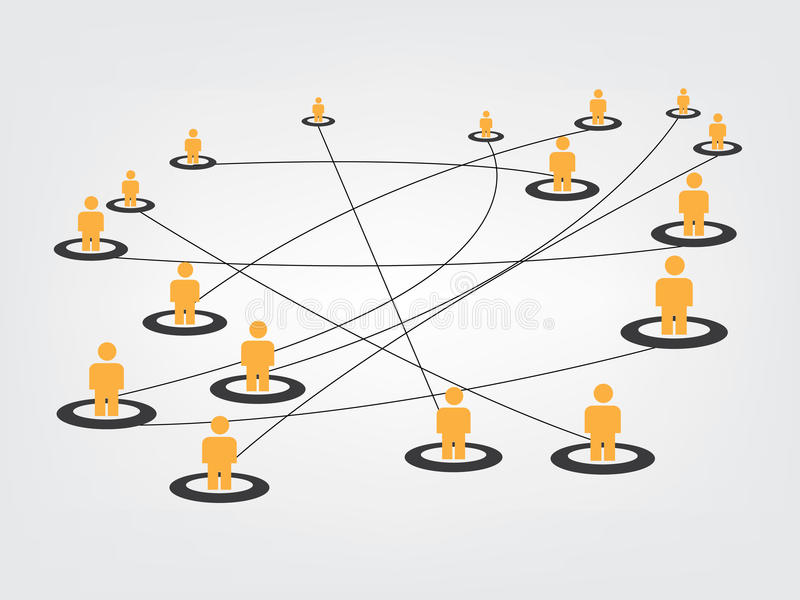 Network image. Of computer and web design stock illustration