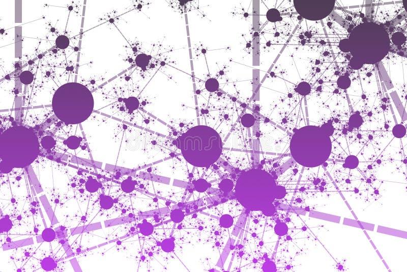 Network Paint Splatter stock illustration