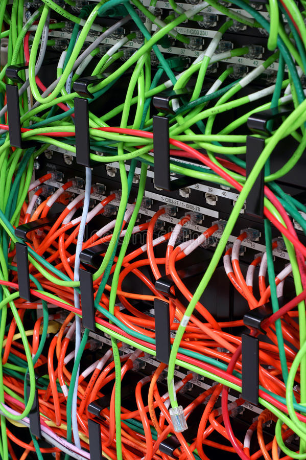 Download Network Patch Cables Royalty Free Stock Images - Image: 11288529