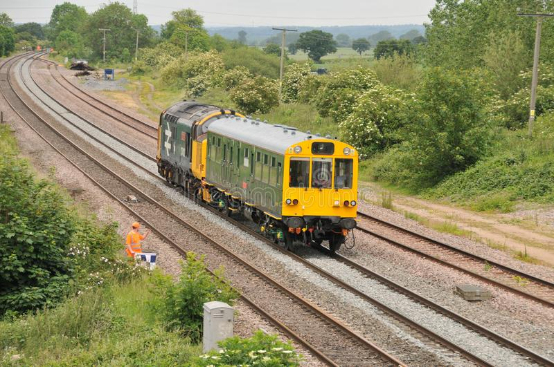 Network Rail Inspection Saloon Caroline royalty free stock photography