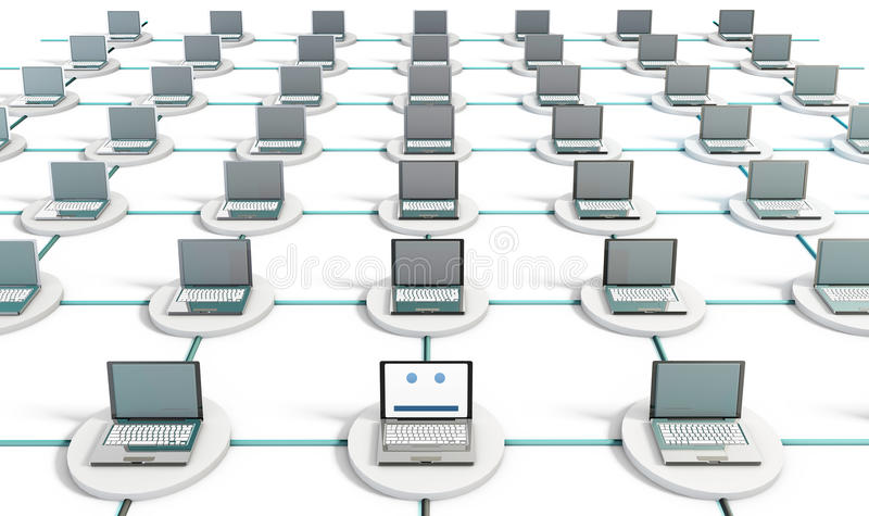 Network Security stock illustration
