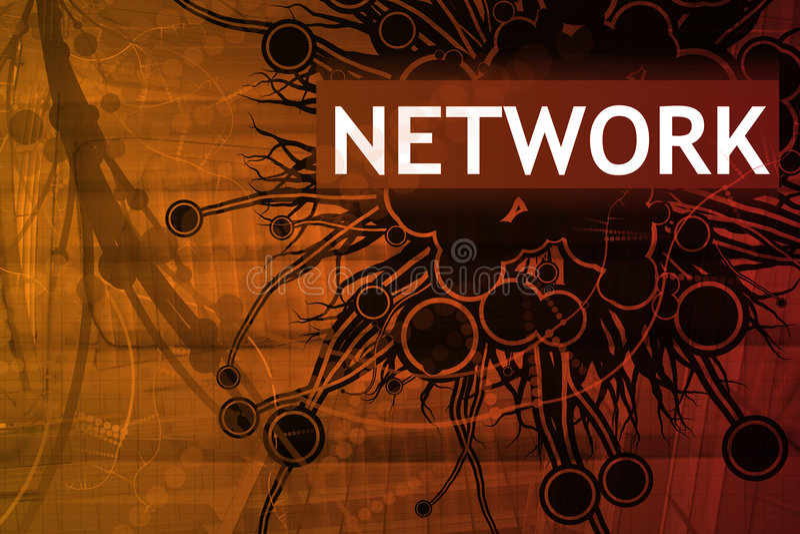 Network Security Alert vector illustration