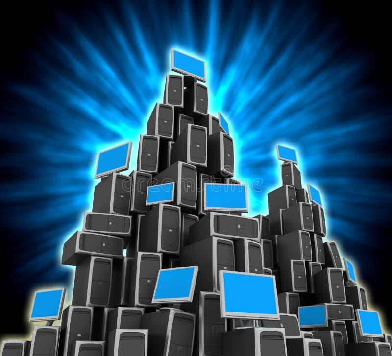 Network Server stock image