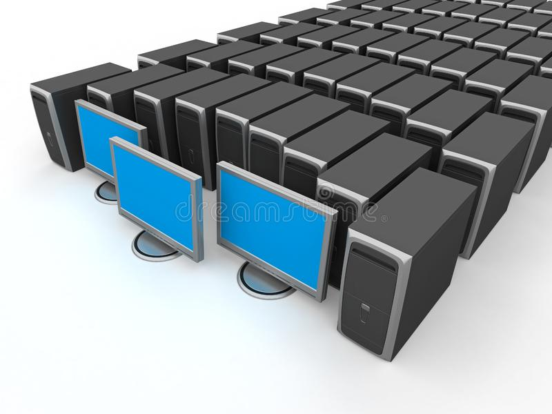 Network Server royalty free stock photography