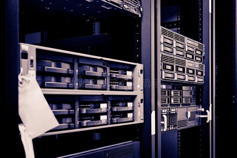 Network Server Rack hard disks royalty free stock photography