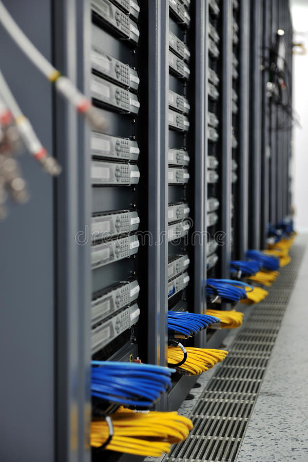 Download Network server room stock photo. Image of center, receiver - 17434974