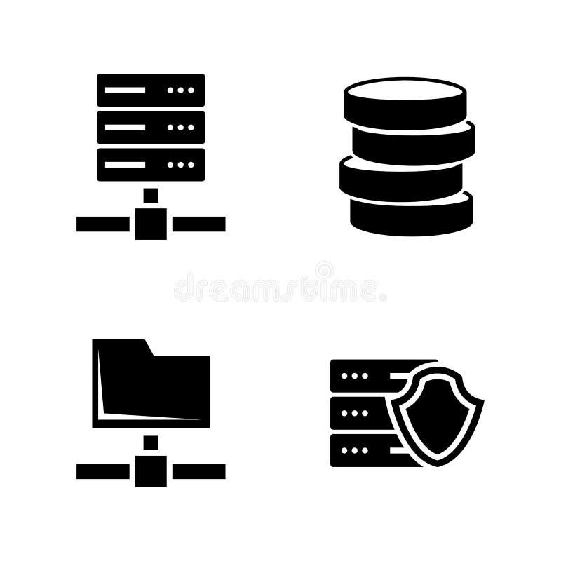 virus protection servers stock illustration  illustration of grunge