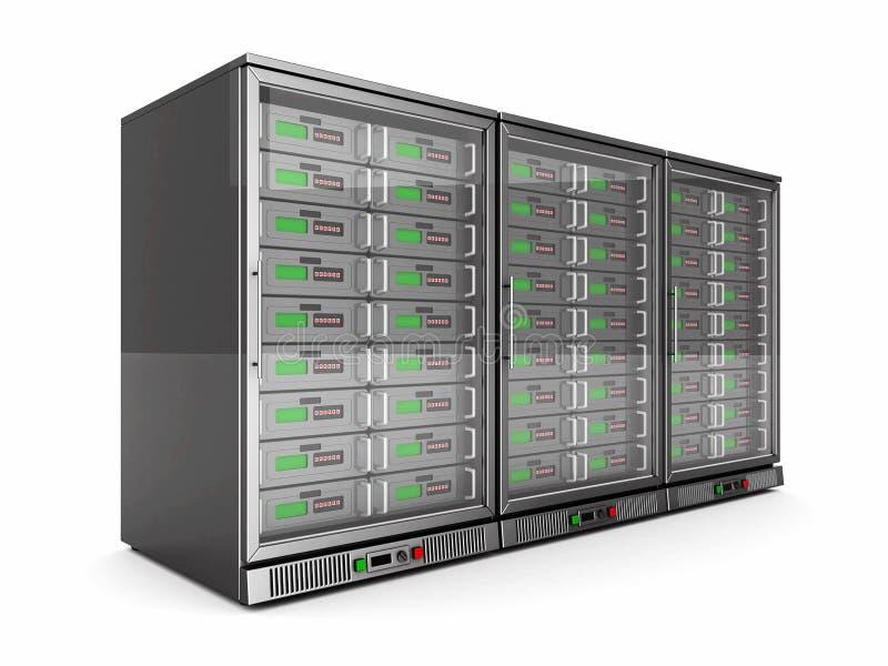 Download Network servers stock illustration. Image of data, cloud - 33212177