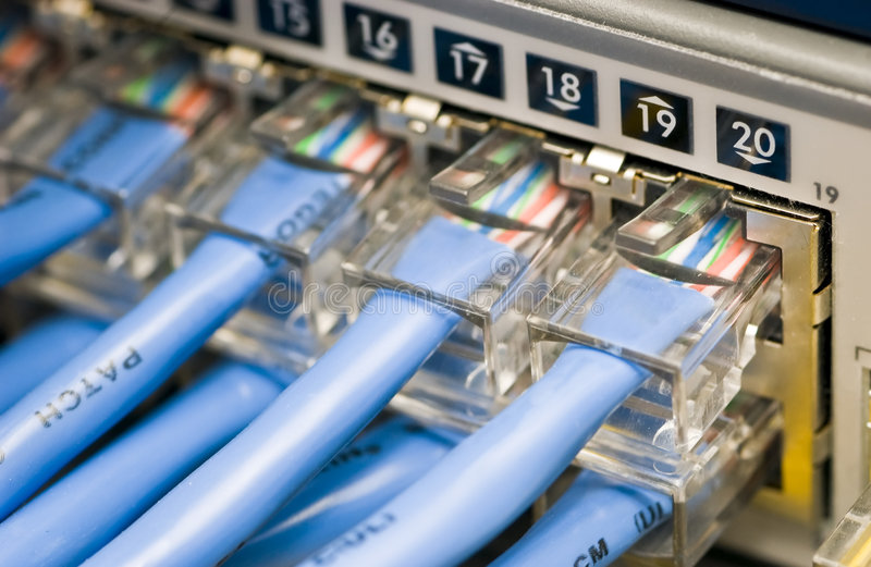 Network Switch stock images