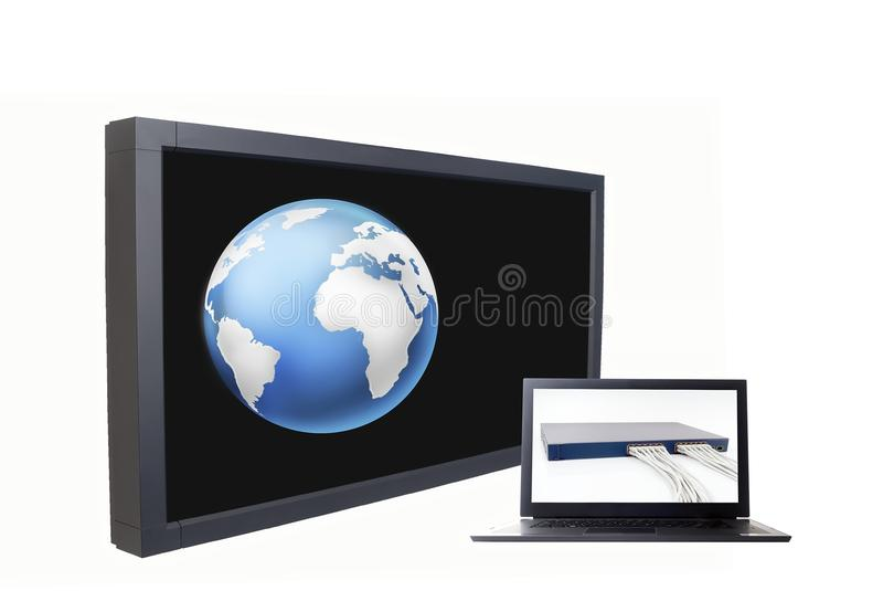 Network technology royalty free stock image