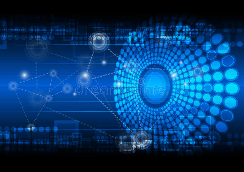 Network technology background royalty free stock photography