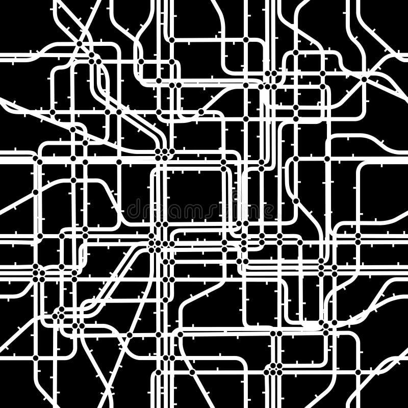 Network tile stock illustration