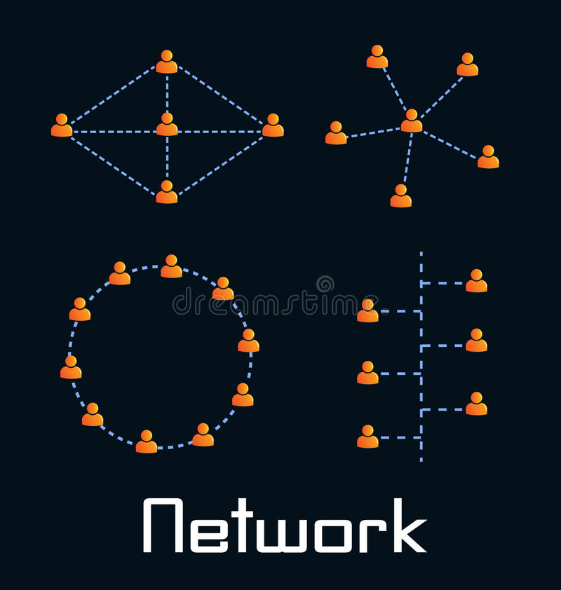Network Topologies Stock Photography