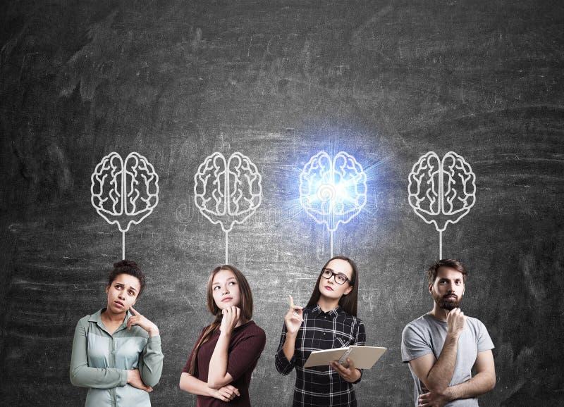 Networking grupa ludzi zdjęcie stock