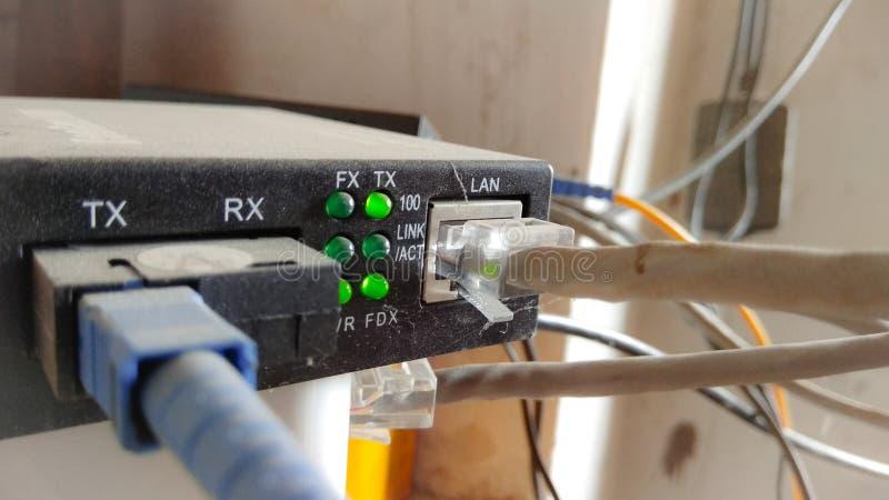 Networking modem obraz royalty free