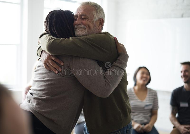 Networking Seminar Meet Ups Concept stock image