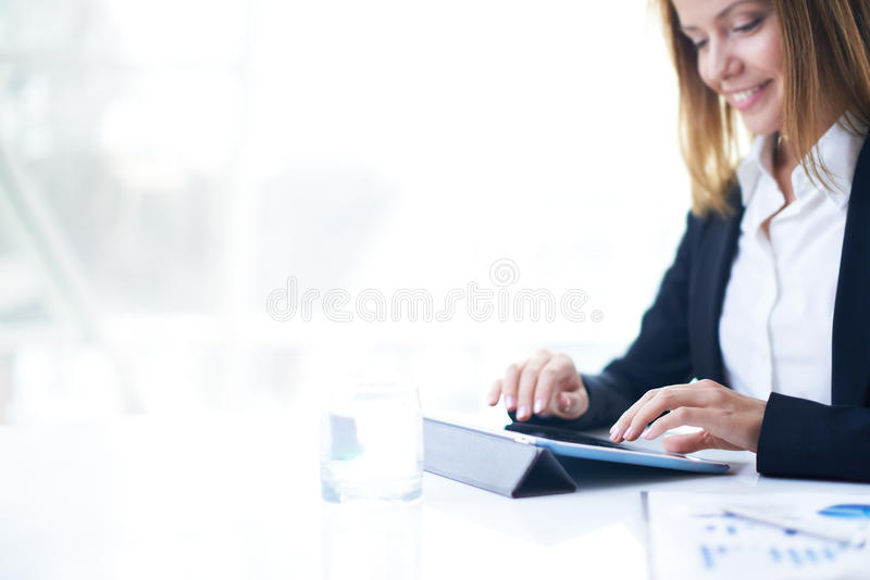 Download Networking stock image. Image of focus, lady, digital - 33380285