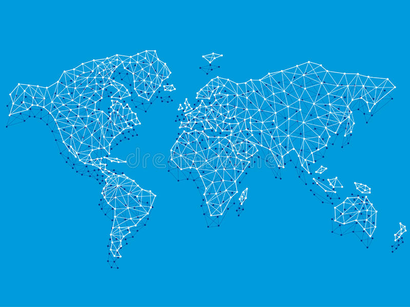 Networks stock illustration