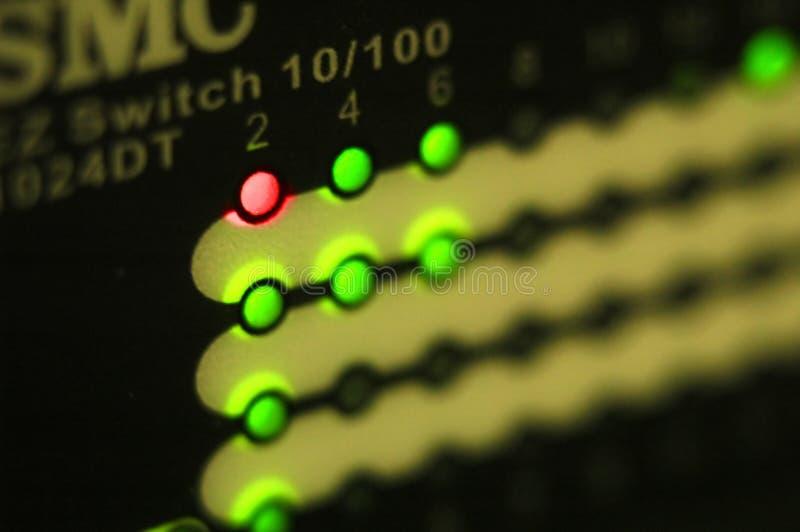 Netz angeschlossen lizenzfreie stockfotos