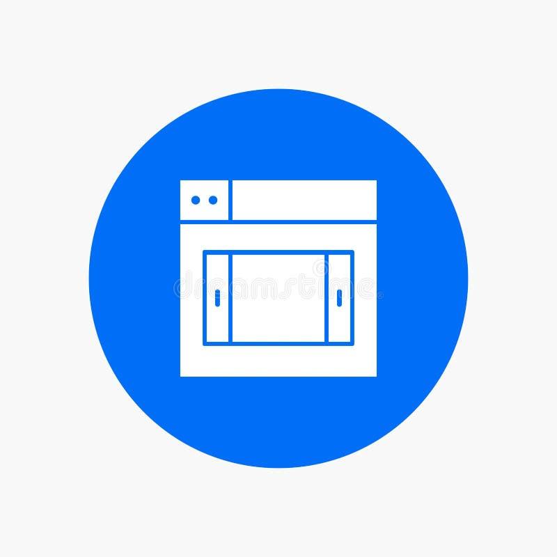 Netz, Entwurf, Mobile lizenzfreie abbildung