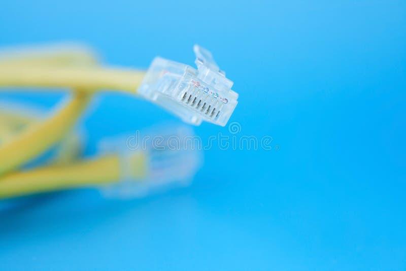 Netz-Kabel lizenzfreie stockfotos