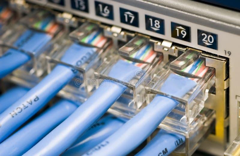 Netz-Schalter stockbilder