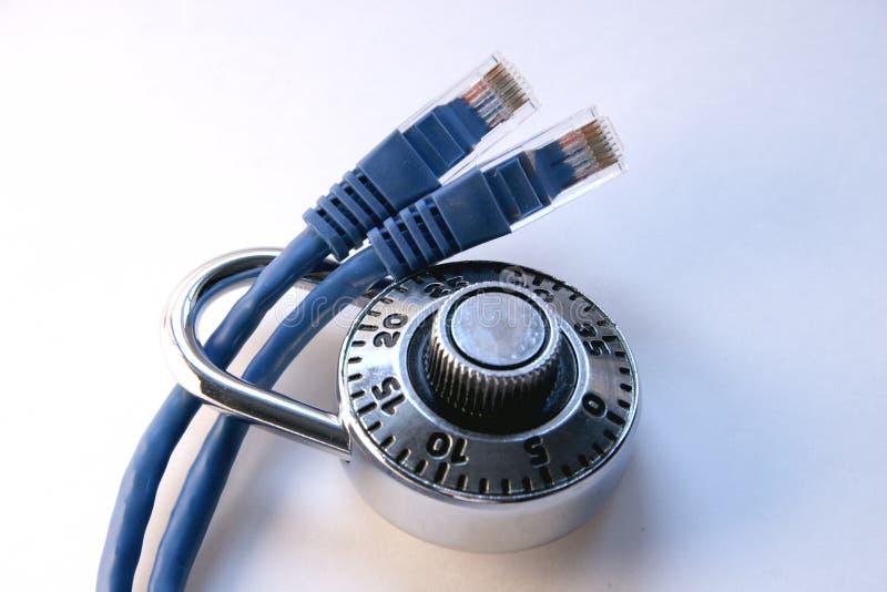 Netz-Sicherheit lizenzfreie stockfotografie