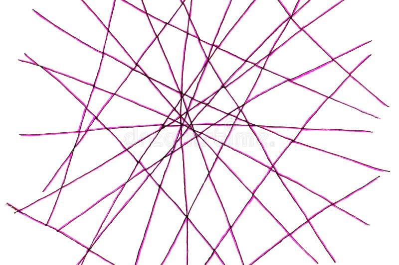 Netz von Linien stockfotografie